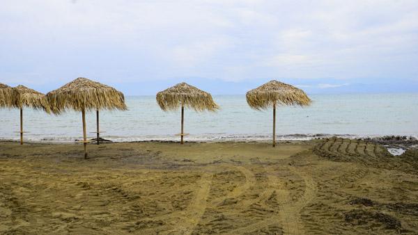klein curacao - am strand